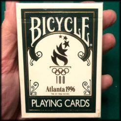 Bicycle Atlanta Olympics 1996 Green Cards