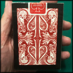 David Blaine's Original Split Spades Red Tally-Ho Cards