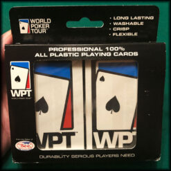 World Poker Tour Plastic Playing Cards Set