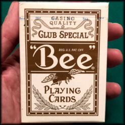 Wynn Las Vegas Jumbo Index Bee Brown Cards