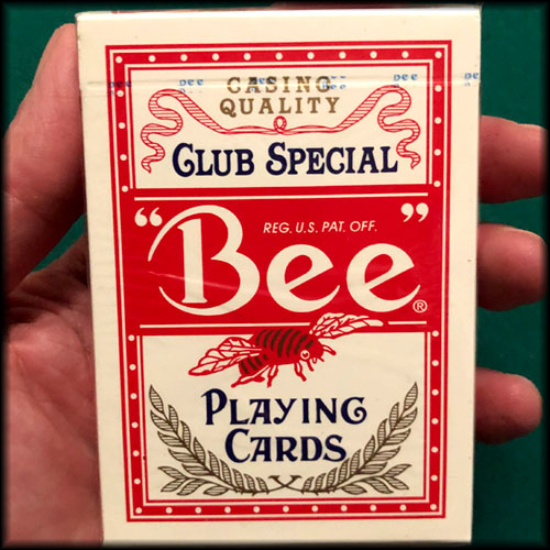 Wynn Las Vegas Jumbo Index Bee Red Cards