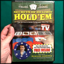 Secrets Of No-Limit Hold'Em DVD