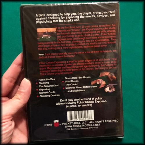 Poker Cheats Exposed 2-Disc DVD Set