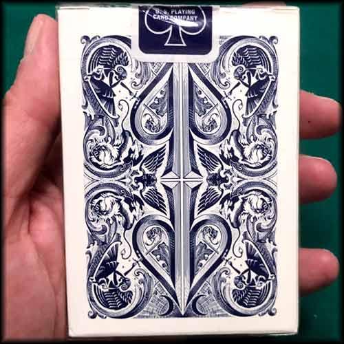 David Blaine Split Spades Blue Cards