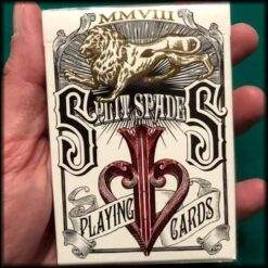 David Blaine Split Spades Red Cards