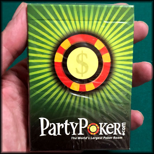PartyPoker Green Cards