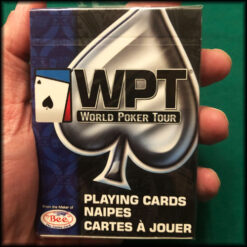 World Poker Tour Bee Blue New Cards