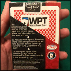 World Poker Tour Bee Red New Cards